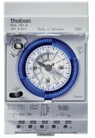 Timer Theben Sul181h Switch Analog jual timer theben pricearea