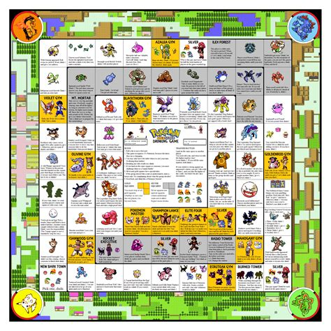 printable drinking board games the pokemon drinking game goldsilver edition