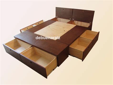 colchon de cama base cama minimalista recamara colchon cajones