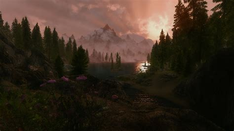 skyrim landscape hot skyrim landscapes at skyrim nexus mods and community