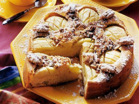 kuchen apfel apfel pecannuss kuchen rezept eat smarter