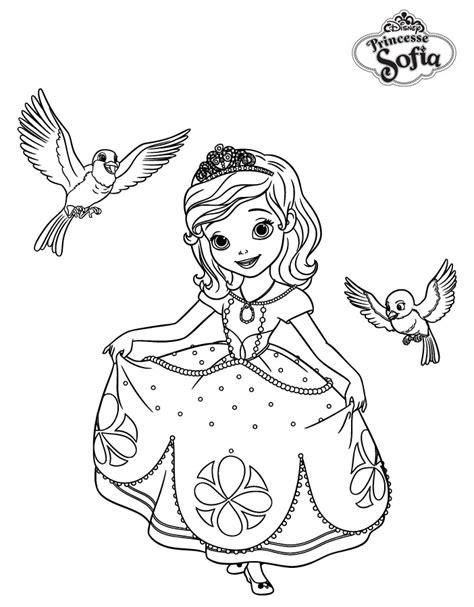 Coloriage Princesse Sofia Gratuit L