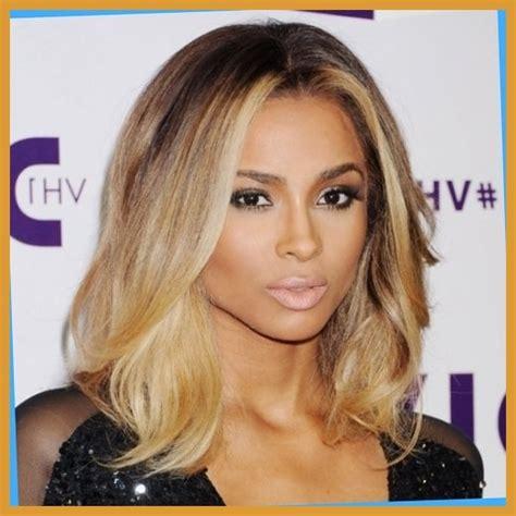 blonde highlights for black women golden highlighted hairstyles for black women hair world