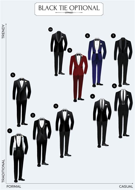 Wedding Attire Black Tie Optional by Black Tie Optional Dress Code Guide Bows N Ties