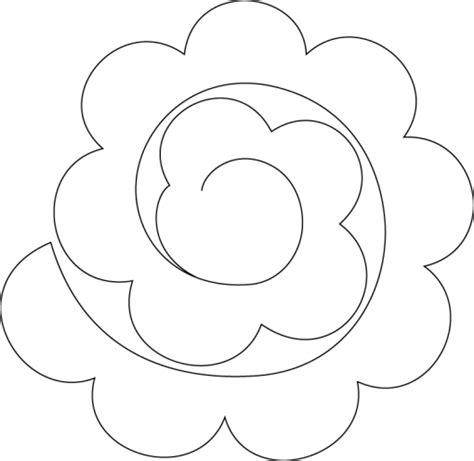 moldes de rosas para imprimir para fundas para celular flores fieltro moldes imagui