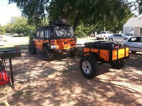 jeep offroad trailer jeep and road trailer trailer