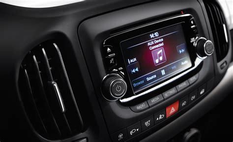 chrysler adding five inch uconnect infotainment system