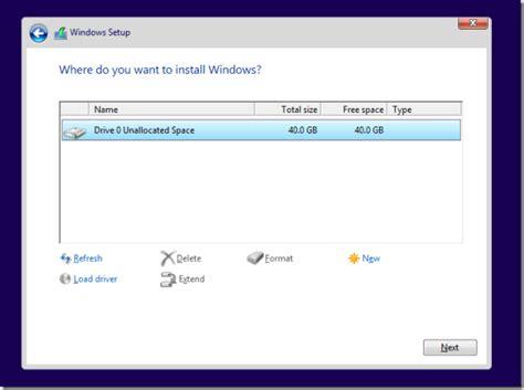 gpt format error fix windows 8 1 install error parition is of gpt type