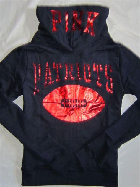 Make Screet Jacket Hoodie bling secret pink nfl new patriots sweatshirt jacket hoodie m l things to buy