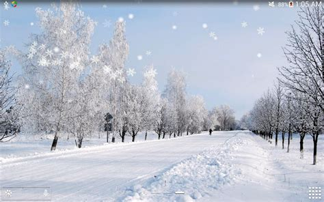 wallpaper untuk google winter snow lwp hd no ad android apps on google play