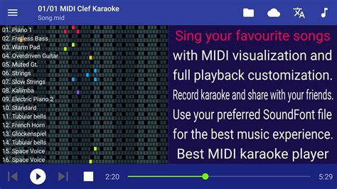 new year song midi midi clef karaoke player android apps on play