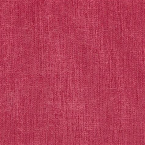 Fuschia Upholstery Fabric Fuschia Pink Solid Chenille Upholstery Fabric