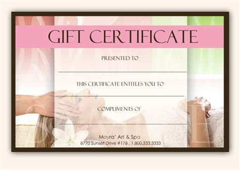 search results for gift certificates templates free