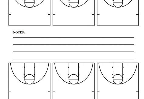 half court basketball template half court basketball diagrams hoop coach