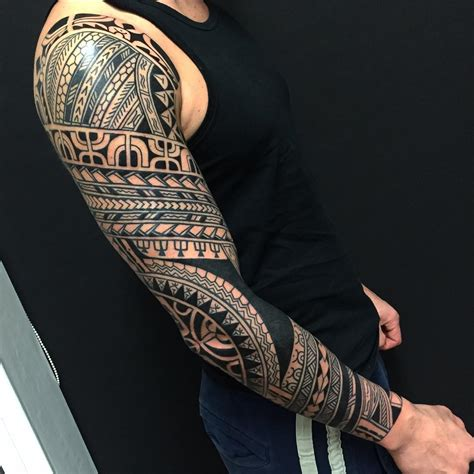 mens tribal sleeve tattoos 28 tribal designs ideas design trends