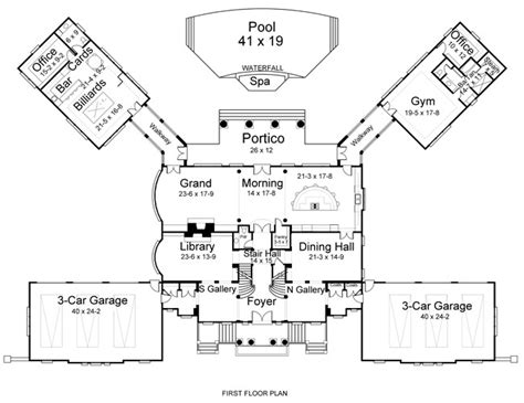 gatsby mansion floor plan newport hall 6150 5 bedrooms and 5 5 baths the house