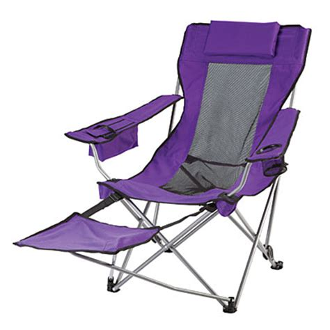 fold up lawn chairs with footrest wilson fisher 174 bright fashion folding chair with