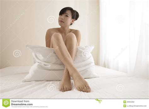 sexy bedding girl in bedroom stock photo image of adult abdomen