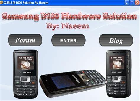 mobile samsung b110 hardware solution