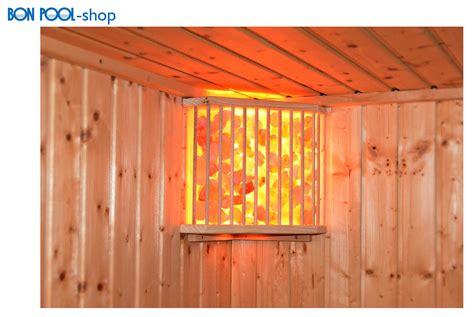 sauna beleuchtung salzkristallleuchte saunale beleuchtung tpi bon pool