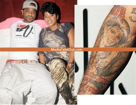 Love Jones Tattoo | true love rapper jim jones tattoos his fiance chrissy s