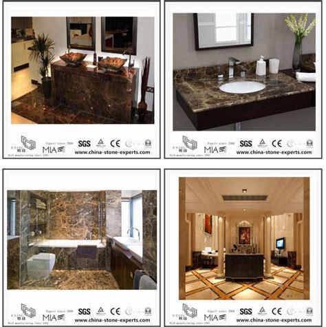 fliesen badezimmer countertops emperador marmor steinplatte f 252 r badezimmer
