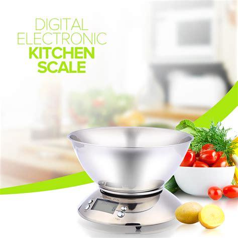 Timbangan Dapur Digital 5kg Electronic Kitchen Scale stainless steel kitchen scale 5kg 1g electronic scale kitchen food balance cuisine precision