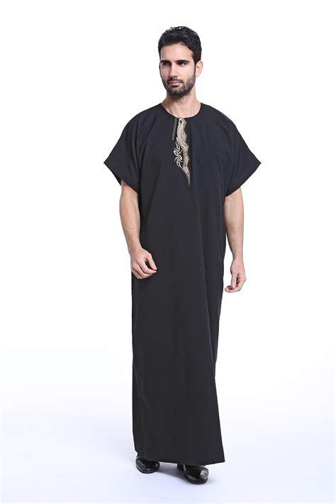Dress Naam Arab 2017 laatste islamitische kleding mannen abaya moslim