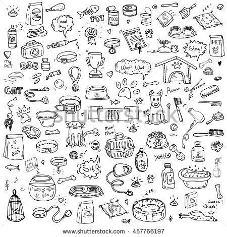 honolulu doodle club doodle books reading set stock vector 555014359
