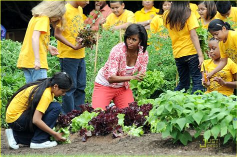 Michelle Obama Angry Black Lady Chronicles Obama Vegetable Garden