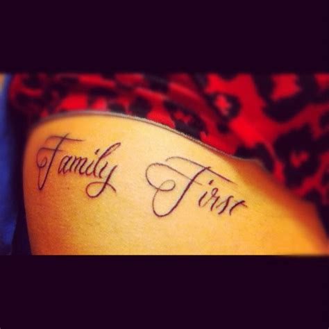 tattoo family first family first tattoo tattoo ideas pinterest