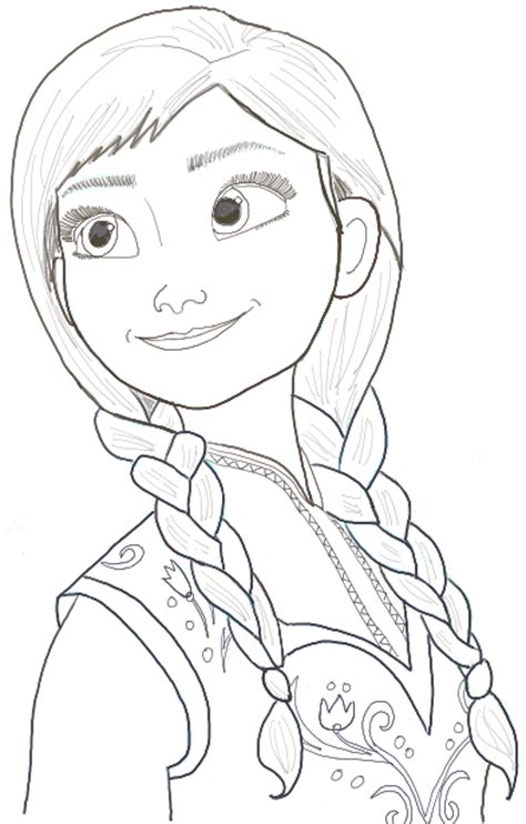 How To Draw Princess Anna From Frozen Step By Step How To Draw A Disney Princess Step By Step Free Coloring Sheets