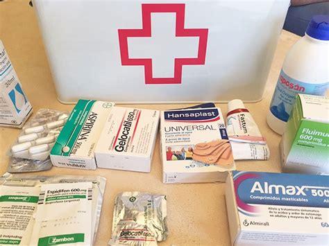 botiquin para casa botiqu 237 n de primeros auxilios