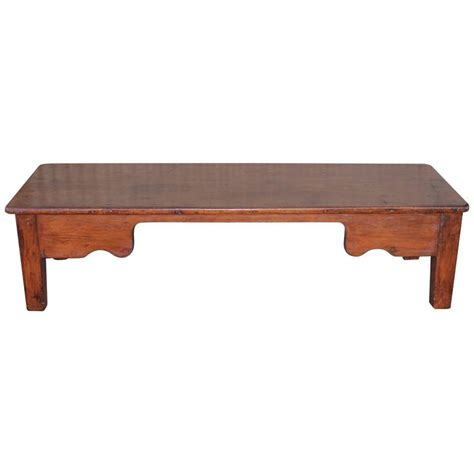 19th century monumental farm coffee table from