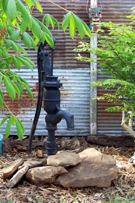 backyard water pump old pump pumps pinterest