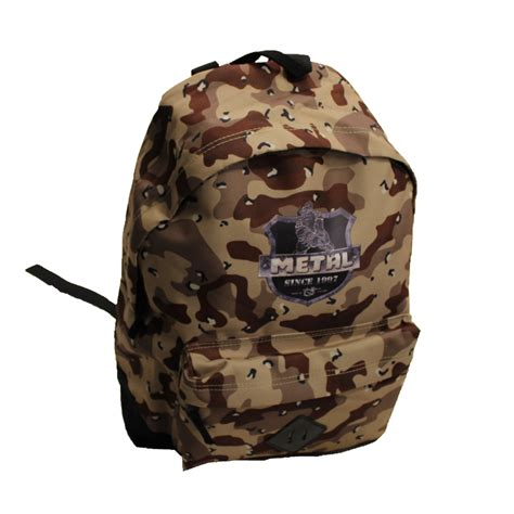 Camouflage Is Back And Its Taking A Bag Turn by Metal Camo Back Bag Gometal
