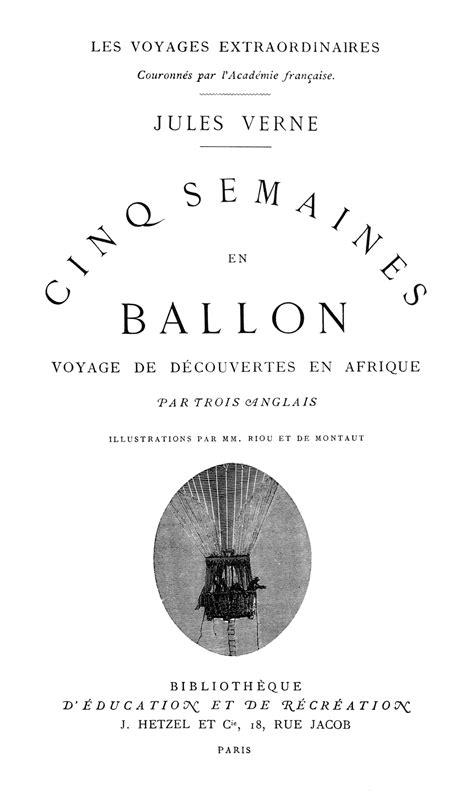 Cinco semanas en globo - Wikipedia, la enciclopedia libre