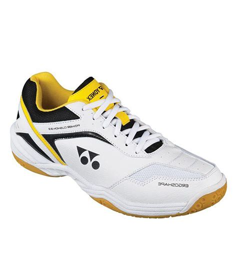 yonex sports shoes yonex white synthetic leather badminton sport shoes price