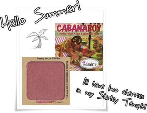 The Balm Balmbini Balm Of Your Boy Cabana Boy thebalm cabana boy blush musings of a muse