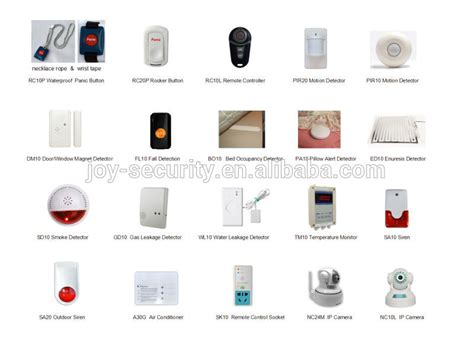 868mhz 3g gsm wireless home security alarm system sos