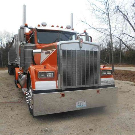kenworth seattle kenworth w900b 1989 sleeper semi trucks