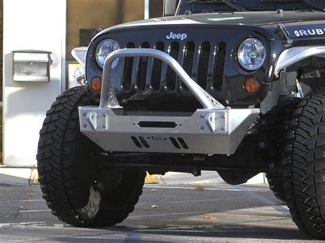 Jeep Metal Bumper Jk Winch Guard Front Bumper Aluminum Genright Jeep Parts