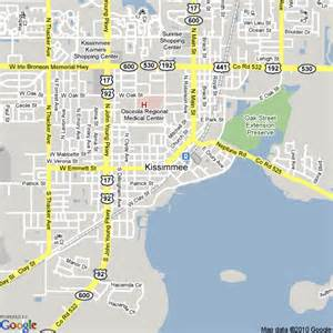 map of kissimmee world map 07