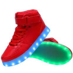 light up shoes high top usb charging led light up shoes