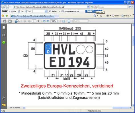 125er Motorrad Kennzeichen by Kleineres 80er Kennzeichen Als 240mm Vespa Px T5 Cosa