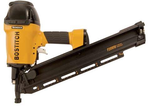 air gun framing nails bostitch air tools f28ww framing nailer nail gun framer