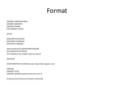Business Letter Address Format Attention business letter format attn letter address format attn