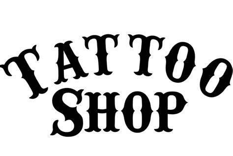 tattoo parlor font fundraiser by carl alexander carl s tattoo shop