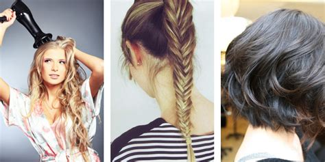 Hairstyles To Do After A Shower by 26 Tips For Styling Your Hair