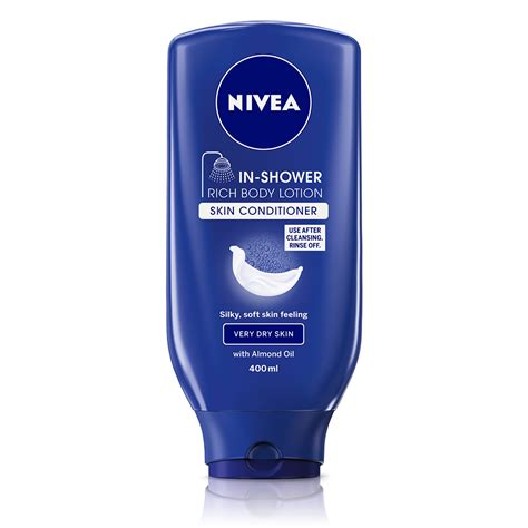 nivea in shower lotion skin